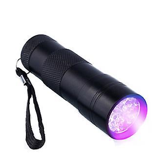 9x UV LED - Smooth & Small UV Flashlight