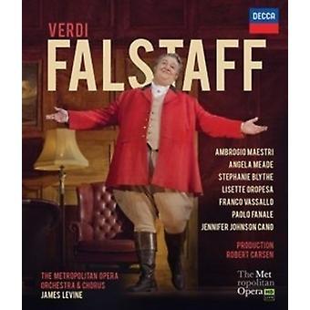 Verdi: Falstaff (import USA Bl [Blu-ray]