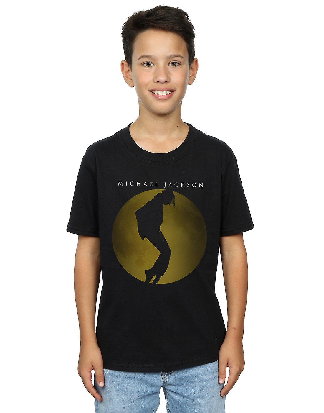 Michael Jackson Boys Moon Circle T-Shirt