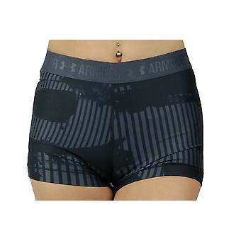 Unter Armour HG Rüstung gedruckt kurze 1302777-008 Damen shorts