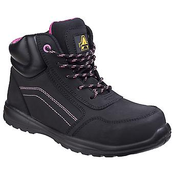 Amblers Safety Womens/Ladies Composite Safety Boots With Side Zip