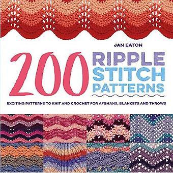 200 ripple sy mønstre - spændende mønstre til Strik og hækling til