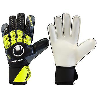 UHLSPORT SOFT SUPPORTFRAME Goalkeeper Gloves Size