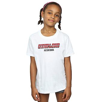 Marvel meisjes Star Lord AKA Peter Quill T-Shirt