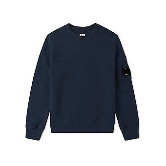 C.P. Company Undersixteen Navy Blue Lens Sweatshirt