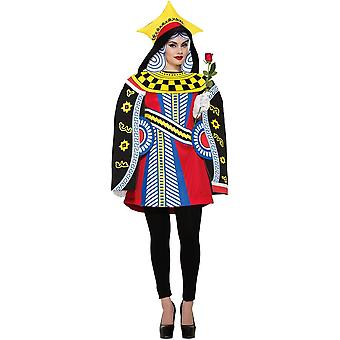 Queen Of Cards Adult Costume