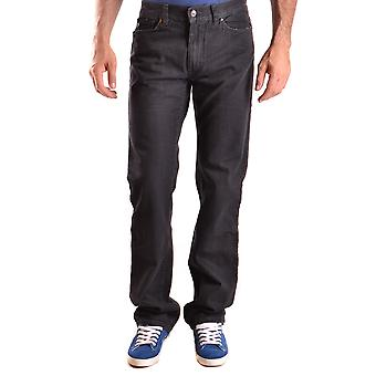 John Richmond Ezbc082107 Men's Black Cotton Jeans