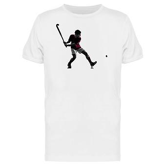 Hokej na trawie Player Koszulka męska-obraz przez Shutterstock