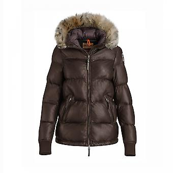 Parajumpers Parajumpers Scarlet lederen Hooded Womens Jacket