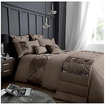 Lush Luxury Duvet Quilt Cover Polycotton Fancy Bedding Set with Pillow Cases