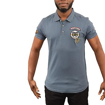 Mens polo t-shirt dink graphic top