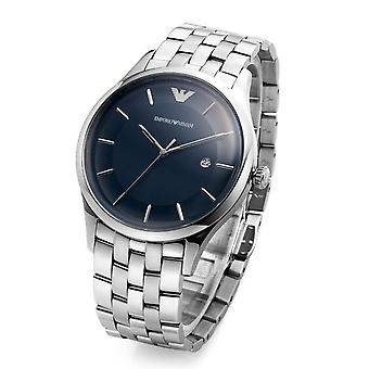 Emporio Armani Men's Ar11019 Silver Stainless-steel Men's Watch