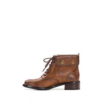 Patricia Nash Womens Lia Fabric Cap Toe Ankle Combat Boots