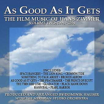 Dominik Hauser - As Good as It Gets: Film Music of Zimmer 2 - O.S.T [CD] USA import