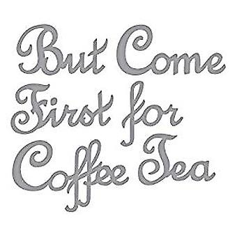 Spellbinders Pero el primer café muere