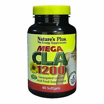 Nature's Plus Mega CLA 1200mg Softgels 60 (4332)