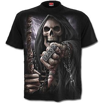 スパイラル - ボスリーパー - メンズ半袖Tシャツ - ブラック