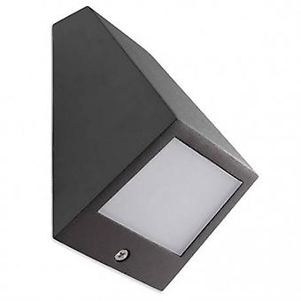 Led Outdoor Small Wall Light Urban Grey Ip54
