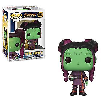 Avengers 3 Infinity War Young Gamora pop! Vinyl