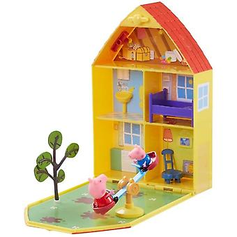 Greta Gris/Peppa Pig, house and Garden playset