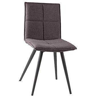 Wellindal Upholstered Metal Chair Zoe (Furniture , Chairs , Chairs)