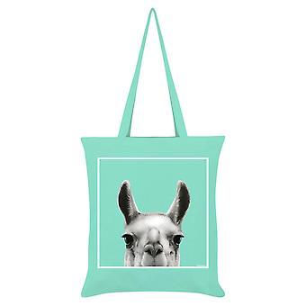 Inquisitive Creatures Llama Tote Bag