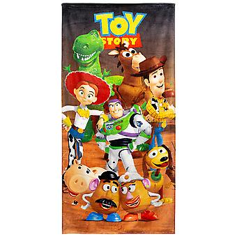 Toy Story cast 28 X 58 strand håndkle