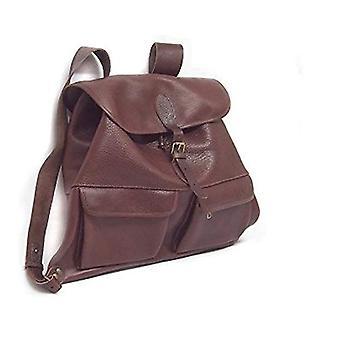 Delfiero Hunt Backpack Casual - 50 cm - Brown