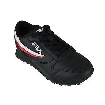 Row casual rad skor omloppsbana låg barn svart 0000157162_0