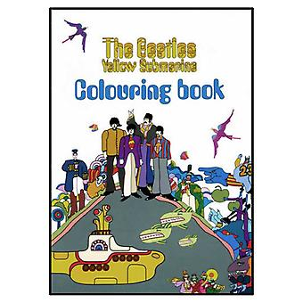 黄色潜水艦の新しい着色の公式本を漫画のビートルズ