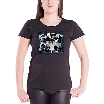The Beatles no The Cavern Official Womens New Black Skinny Fit camiseta