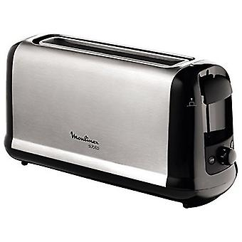 Moulinex Subito 1000W gray steel stainless toaster