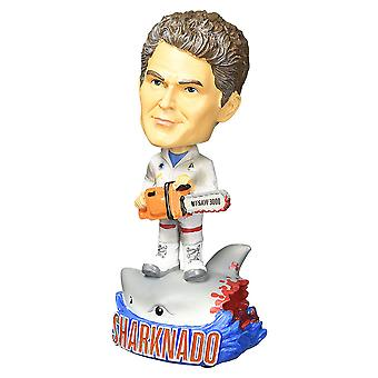 Sharknado 3 the Hoff vs Sharknado Bobble Head