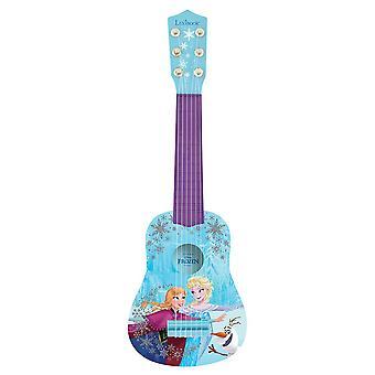 ディズニー冷凍エルザ&アンナキッズギター53センチブルー(モデルNo.K200FZ)