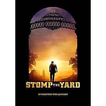 ستومب الفناء (مقدما من جانب مزدوج) (2007) ملصق السينما الأصلي