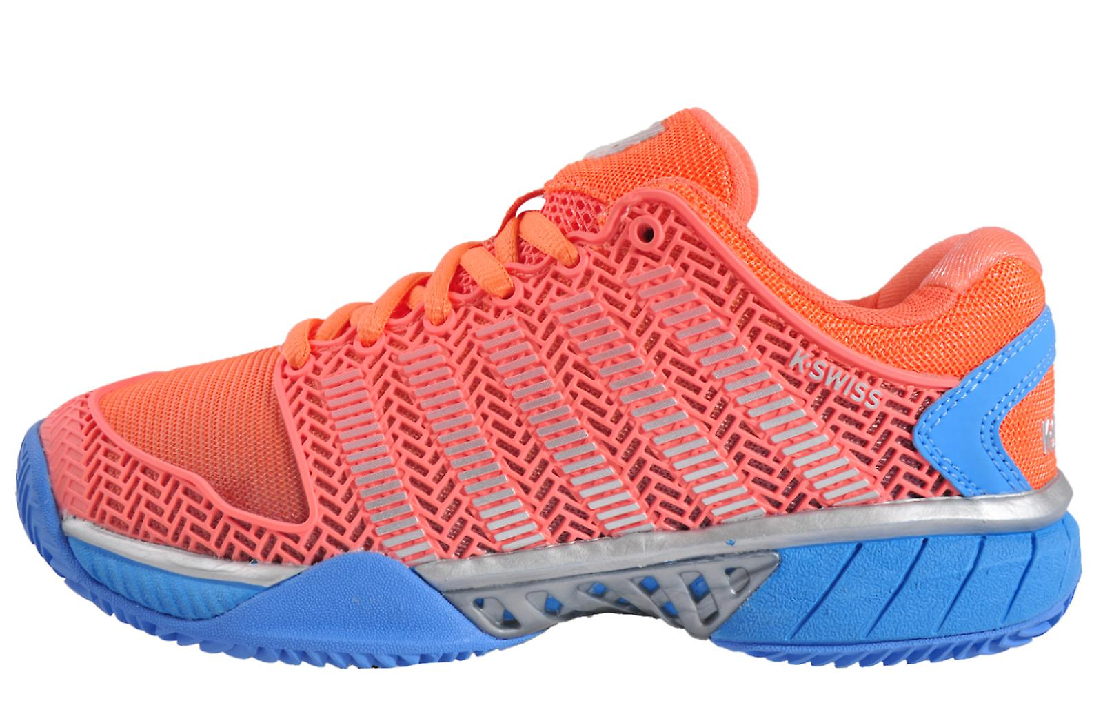 K Swiss Hypercourt Express HB Blue / Orange Colar / Blue