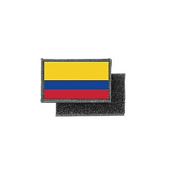 Patch ecusson imprime badge drapeau colombie colombien