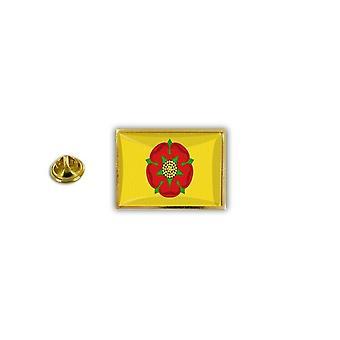 Pins Pin Badge Pin's Metal Broche Drapeau Anglais Royaume Uni Lancashire