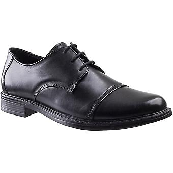 Amblers Safety mens Bristol Lace up lederen Oxford schoenen