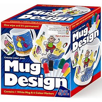 Great Gizmos créer votre propre conception de la tasse avec des stylos
