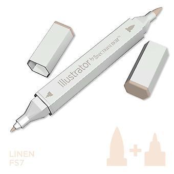 Illustrator by Spectrum Noir Single Pen - Linen