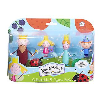 Ben & Holly Collectable 5 Figure Pack