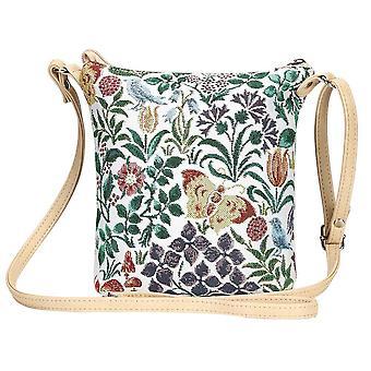 Voysey-primavera fiori spalla sling bag da signare arazzo/Sling-SPFL