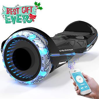 COLORWAY CX911 Advanced Premium Self Balancing Scooter SUV 6.5''- Segway Electric Scooter Off-Road with Bluetooth -amp;App - Led Wheels - Motor 700W - EU Safety Standard - Gift For Kids