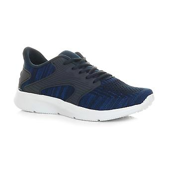 Ajvani mens memory foam lace up mesh fitness sport gym running trainers