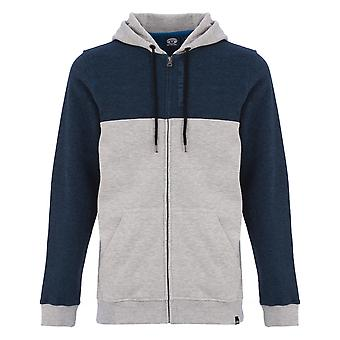 Animal Westy Zipped Hoody in Grey Marl
