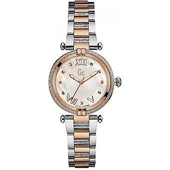 GC Y18002L1 watch - two-tone steel woman