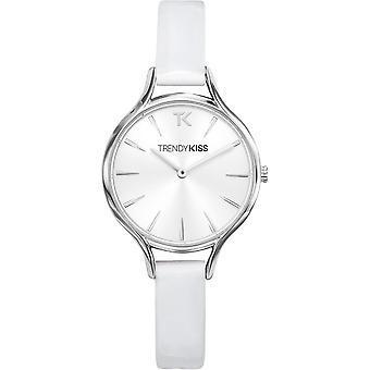 Watch Trendy Kiss TC10093-03 - watch leather white woman