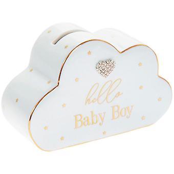 Lesser & Pavey Hello Baby Cloud Money Bank