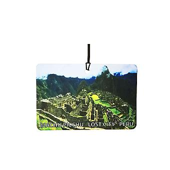 Machu Picchu - Lost City - Peru bil Air Freshener
